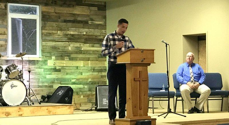 Timmy Preaching