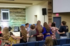 Ladies Praying together