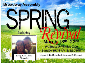 Broadway Assembly Revival