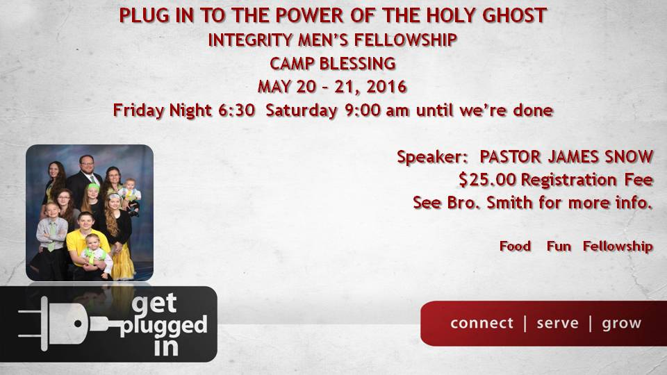 Plug in to the power of the holy ghost (2)